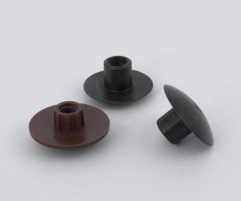 Seta fijación pata (plástico o acero)