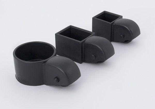Tacos con ruedas para cama nido