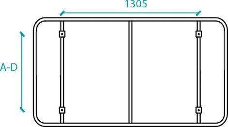 Kit de unión pedales sistemas de elevación